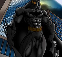 Batman Gotham Sentinel by EricLinquist