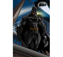 Batman Gotham Sentinel Photographic Print