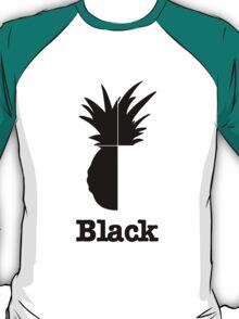 Quarter Black T-Shirt