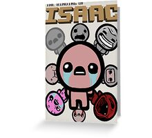 Binding of Isaac  Greeting Card