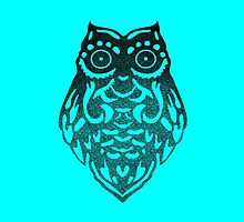 Tribal Owl Case by Thomas Micallef