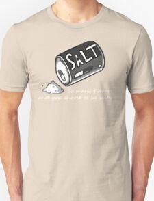 PJSalt V2 (white text) Unisex T-Shirt