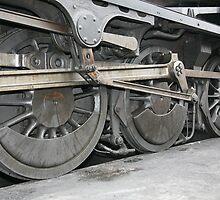 steam train wheels by markspics