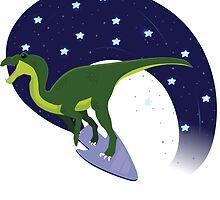 Warp Factor Raptor by Hexadecimal