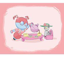 Little Robot: Tea Party by jeffpina78