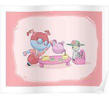 Little Robot: Tea Party Poster