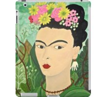 Frida with Flowers i-pad case iPad Case/Skin