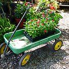 John Deere Wagon by WildestArt
