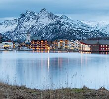 Svolvaer - Lofoten Islands, Norway by Kellie Netherwood