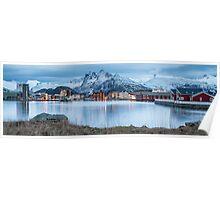 Svolvaer - Lofoten Islands, Norway Poster