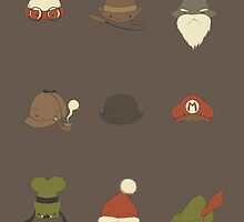 Famous Hats by Lili Batista