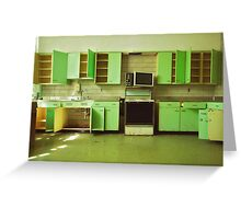 The Green Kitchen Greeting Card