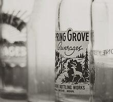 Vintage Bottles by Bethany Helzer