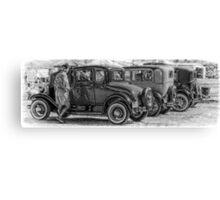 Oldies Lineup Canvas Print
