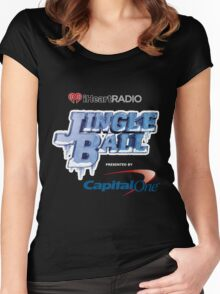 JINGLE BALL FESTIVAL 2015 Women's Fitted Scoop T-Shirt