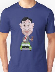 Funny Drawing Caricature TV T-Shirt