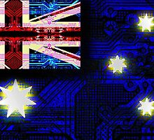 circuit board australia (flag) by sebmcnulty