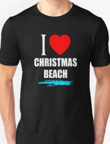I LOVE CHRISTMAS BEACH Unisex T-Shirt
