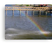 Water Bow Canvas Print