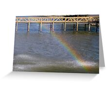 Water Bow Greeting Card