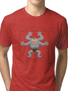 Leonardo Da Vinci's Machamp Tri-blend T-Shirt
