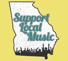 Support Local Music - Georgia by hkcweb