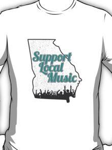 Support Local Music - Georgia T-Shirt