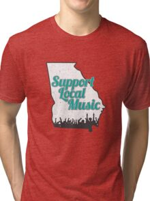 Support Local Music - Georgia Tri-blend T-Shirt