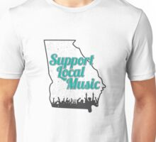 Support Local Music - Georgia Unisex T-Shirt