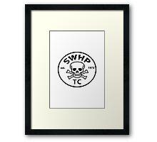 SWHP Logo Framed Print