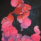 Pink Oranda  by amylouised