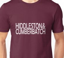 Hiddleston & Cumberbatch Unisex T-Shirt