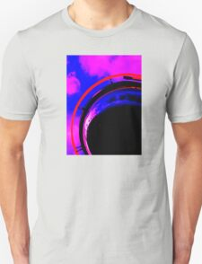 Abstract red magenta black blue T-Shirt