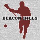 Beacon Hills High - Lacrosse (chest) by keyweegirlie