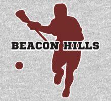 Beacon Hills High - Lacrosse (chest) Kids Tee