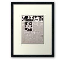Rise of the Captain Framed Print