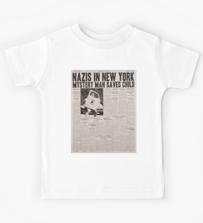 Rise of the Captain Kids Tee