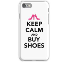 Keep calm and buy shoes iPhone Case/Skin