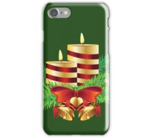 Decorative Christmas Candle iPhone Case/Skin