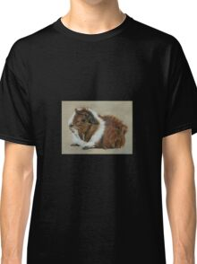 """Lucky"" Gorgeous Guinea Pig Classic T-Shirt"