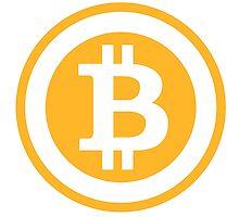 Bitcoin Logo by fortalyst