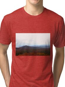 Blue Ridge Mountian Love Tri-blend T-Shirt