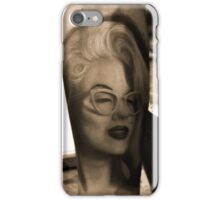Marilyn Monroe Tattoo iPhone Case/Skin