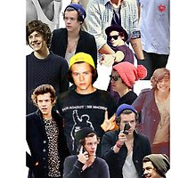 Harry Styles Collage Shirts/Cases/Pillows/Cards by harriestyles