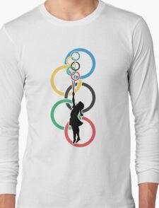 Olympic Dream - Banksy Inspired Long Sleeve T-Shirt