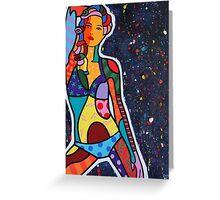 Starry Night [Notte stellata] Greeting Card