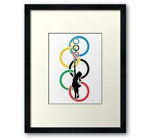 Olympic Dream - Banksy Inspired Framed Print