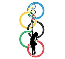 Olympic Dream - Banksy Inspired Photographic Print