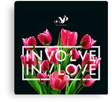 INVOLVE IN/LOVE Canvas Print