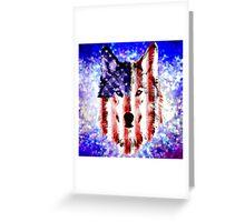 wolf USA Greeting Card